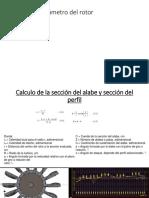 Calculo Del Diámetro Del Rotor DESARROLLO PERSONAL