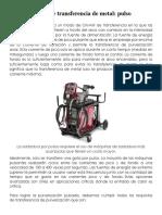 Modos de transferencia de metal - Spray Pulsado.docx