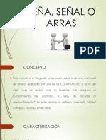 SEÑA O ARRAS (2)