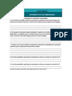Cuestionario y Ejercicios de Movimiento en Dos Dimensiones