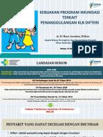 Kebijakan Tata Laksana Kasus Difteri Di KOta Bandung