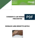 CUIDADO DE HERIDAS MAS FRECUENTES