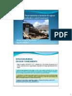 Saneamiento y Manejo de Aguas Residuales a Nivel Nacional