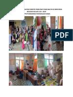 3. Dokumentasi Kegiatan Sdidtk Pada Bayi Dan Balita Di Bkb Desa Beligan Bulan Juli 2019
