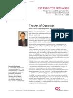 The Art of Deception