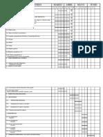 Cronograma y Parámetros Proyecto Primer Semestre