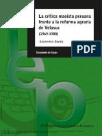DORAIS La Crítica Maoísta Peruana Frente a La Reforma Agr... ---- (Pg 1--16)