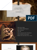 Análisis Dante y Virgilio, Bourguereau
