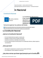 Constitución Nacional » Derecho Fácil