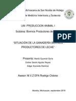 Situacion de La Produccion de Leche Rev