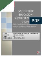 Trabajo de Plan de Marketing PDF