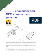 Como Convencer Seu CEO a Investir Em Pessoas