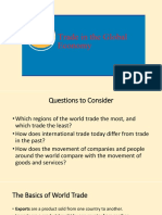 Chapter 1-Trade in the Global Economy