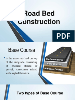 Road Bed Construction