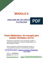 analisis de circuito de flotacion