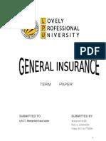 General Insurance 1