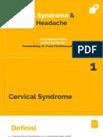 MTE - Cervical Syndrome & Tension Headache