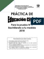 Practica Educacion Civica Bachillerato Tu Medida 01 2018