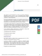 Portal Lechero - Proceso de Pasteurización