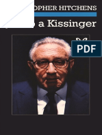 Hitchens Christopher - Juicio a Kissinger