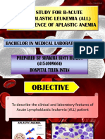 Case Study for Beta Acute Lymphoblastic Leukemia(B-All)