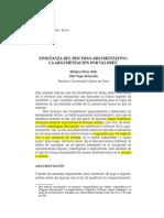 Perez_Vega_2002- Enseñanza de La Argumentacion