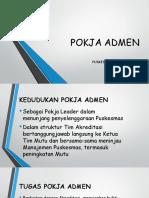 presentasi Pokja Admin