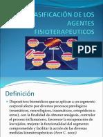 Clasificación de Los Agente Fisiterapeuticos