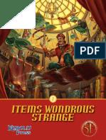 Items Wondrous Strange