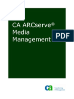 CA ARCserve Media Management