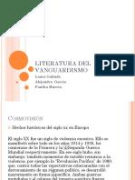 Literatura Del Vanguardismo