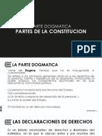 Partes de La Constitución
