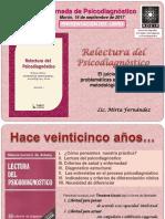 Presentación Del Libro Relectura Del Psicodiagnóstico