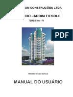 Manual Do Usuário Jardim Fiesole
