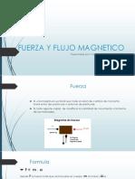 Fuerza y Flujo Magnetico (1)