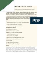 Dictados 1º Bachillerato Tema 2
