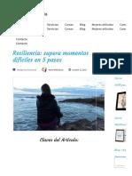 Resiliencia_ supera momentos difíciles en 5 pasos - María Mikhailova - Coaching Estratégico.pdf