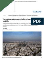 París y Otras Cuatro Grandes Ciudades Francesas Prohíben Los Pesticidas _ Sociedad _ EL PAÍS