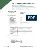 Material Safety Data Sheet Anascb207