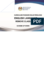 Secondary Scheme of Work Remove Class