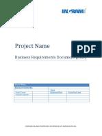 Sample BRD para proyectos