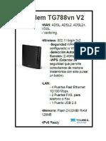 Guia-modem Technicolor TG788vnv2