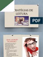 Estratégias de Leitura Ppt