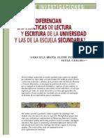 EN QUE SE DIFERENCIAN LAS PRACTICAS DE LETURA Y ESCRITURA EN LA UNIVERSIDAD Y ESCUELA.pdf