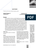 La Ciencia Social Critica Frankfurt