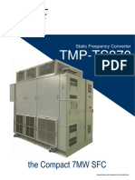 Static Frequency Converter Sfc Tmp-ts370 Series