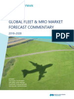 2018-2028 Global Fleet MRO Market Forecast Commentary Public Final Web