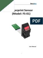 FS-01 Fingerprint Sensor Manual Download