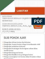 1. larutan