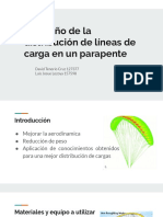 Rediseño de La Distribución de Líneas de Carga en Un Parapente